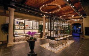 The interior of Diego Pellicer, a premier dispensary that carries THC chocolate in Denver.